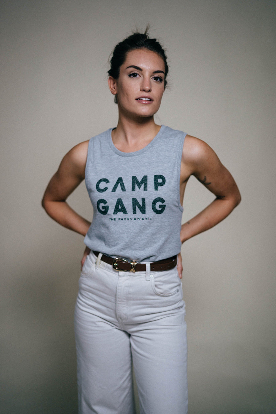 Camp Gang Racerback Tank - Wondery, A Parks Apparel Brand