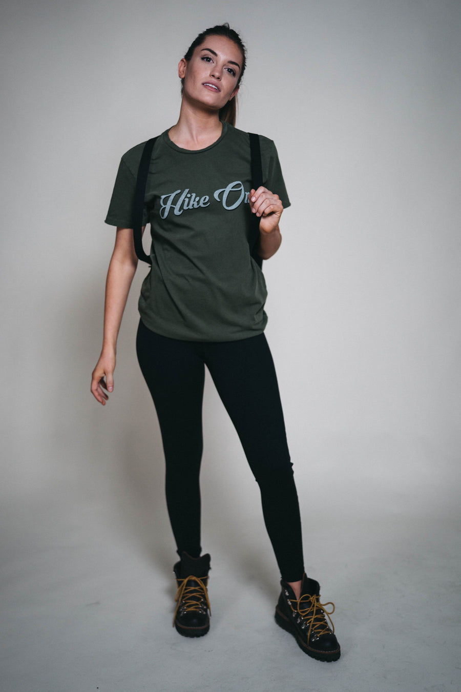 Hike On Distressed Tee - Wondery, A Parks Apparel Brand