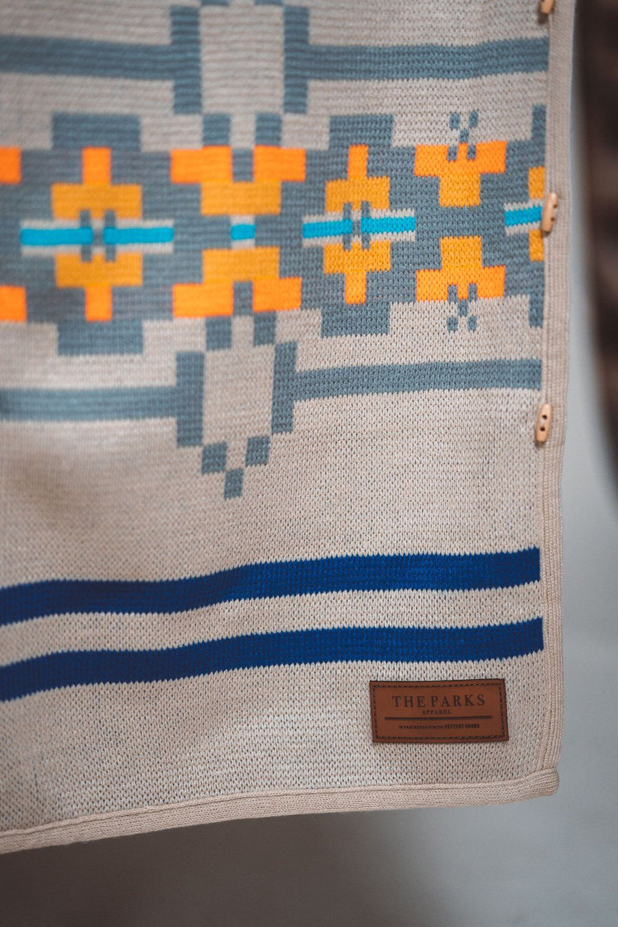 Explorers Wraparound Blanket // Wildly Dunes Edition - Wondery, A Parks Apparel Brand