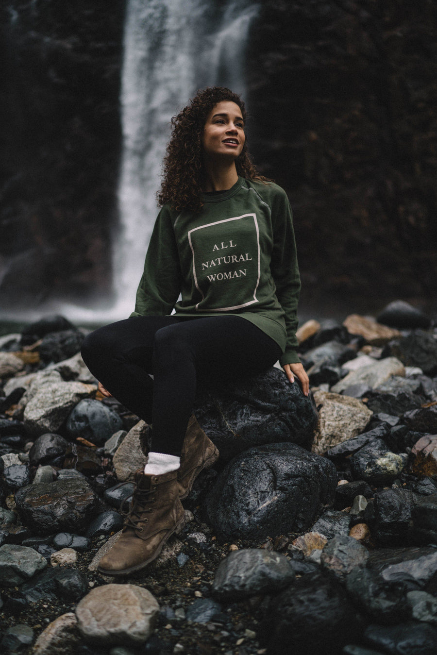 All Natural Woman Crewneck - Wondery, A Parks Apparel Brand