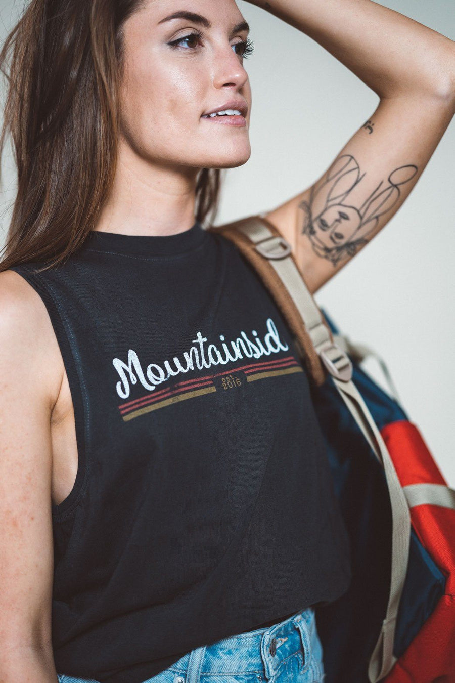 Mountainside Jersey Muscle Tank - Wondery, A Parks Apparel Brand