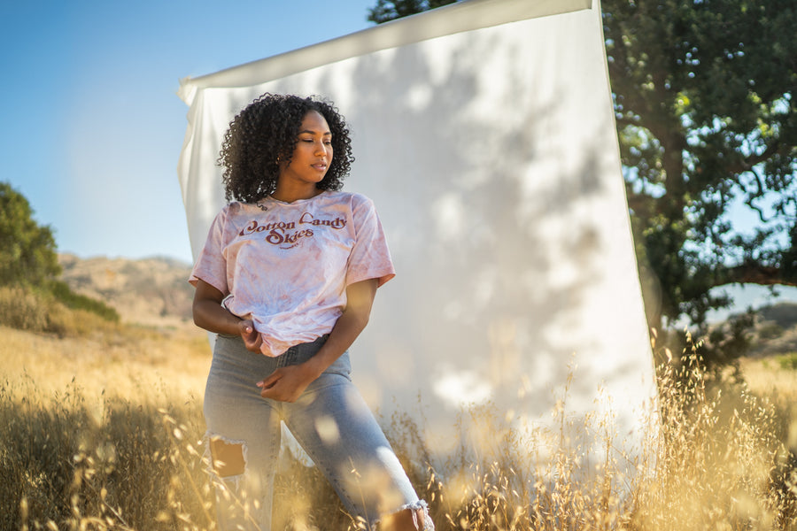 Cotton Candy Skies Tie Dye Tee - Wondery, A Parks Apparel Brand