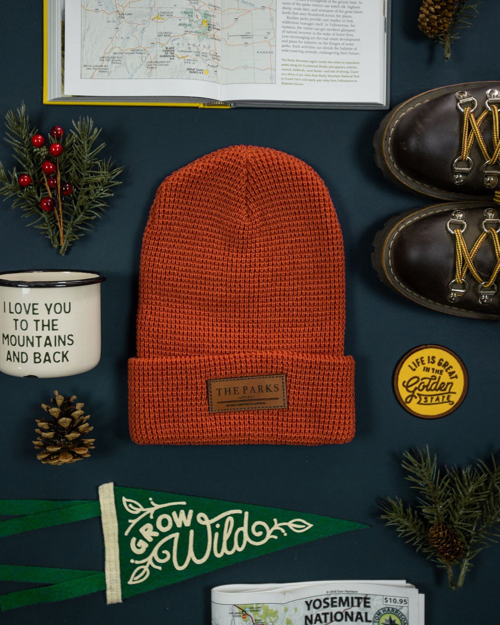 The Parks Official Beanie - The Parks Apparel