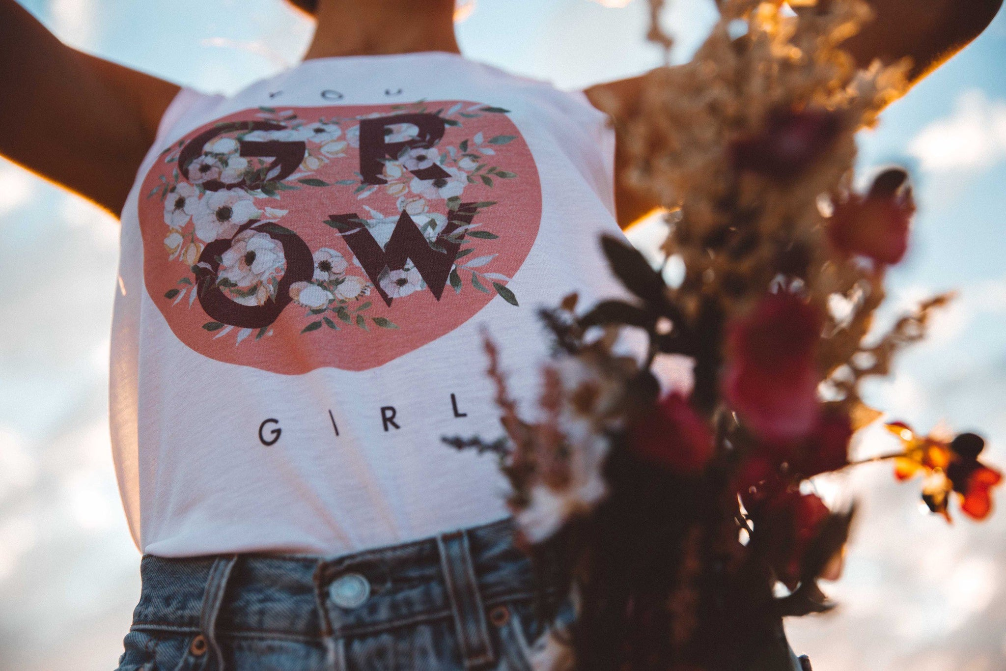 The Parks You Grow Girl Women's Muscle Tank