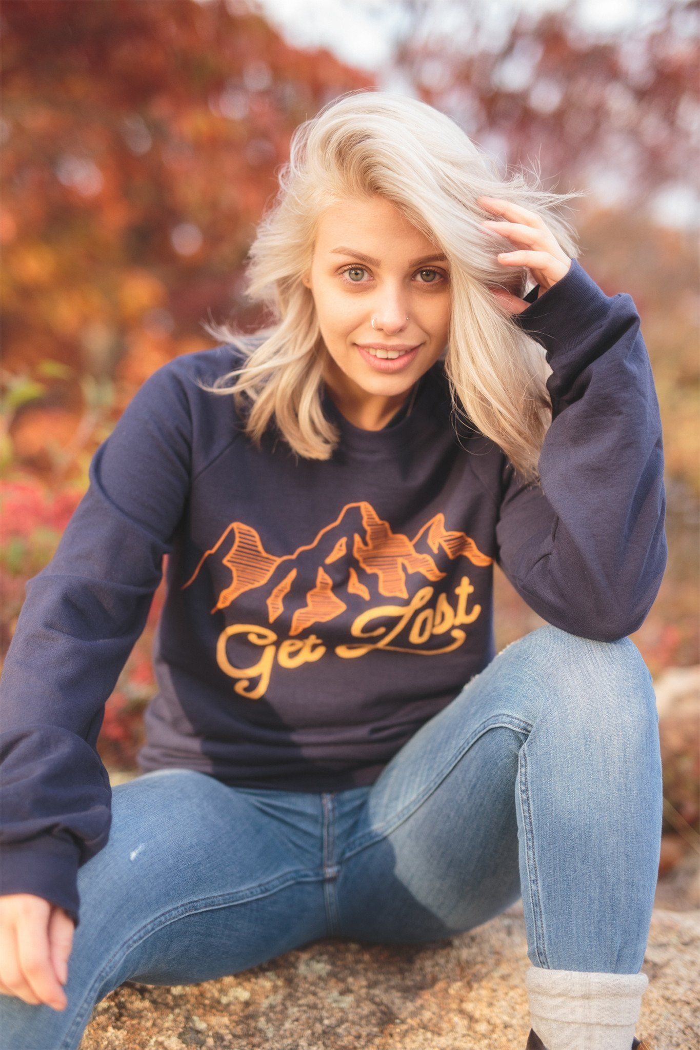Get Lost Classic Crewneck - The Parks Apparel