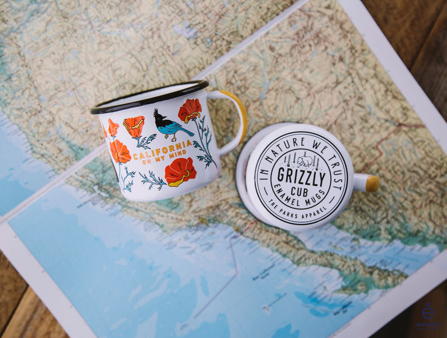 California on my Mind Scented Candle - Wondery, A Parks Apparel Brand