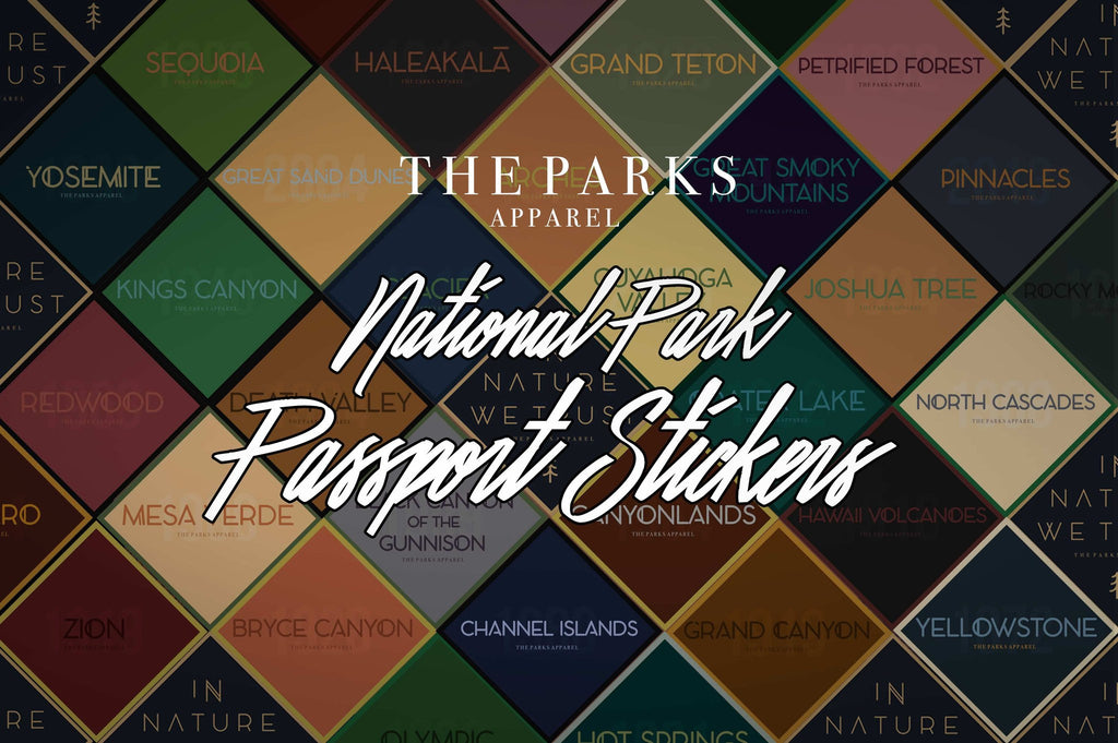 The Parks National Park Passport Stickers - Wondery