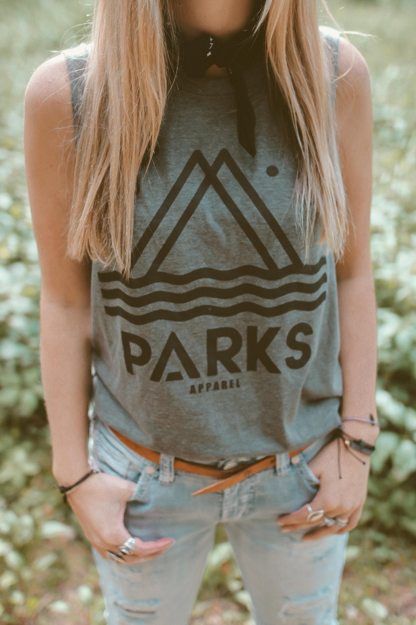 The Parks Classic Unisex Muscle Tank - The Parks Apparel