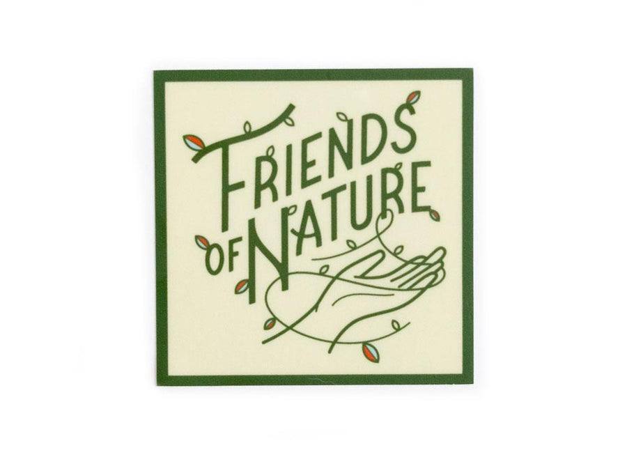 Friends of Nature Sticker - Wondery, A Parks Apparel Brand
