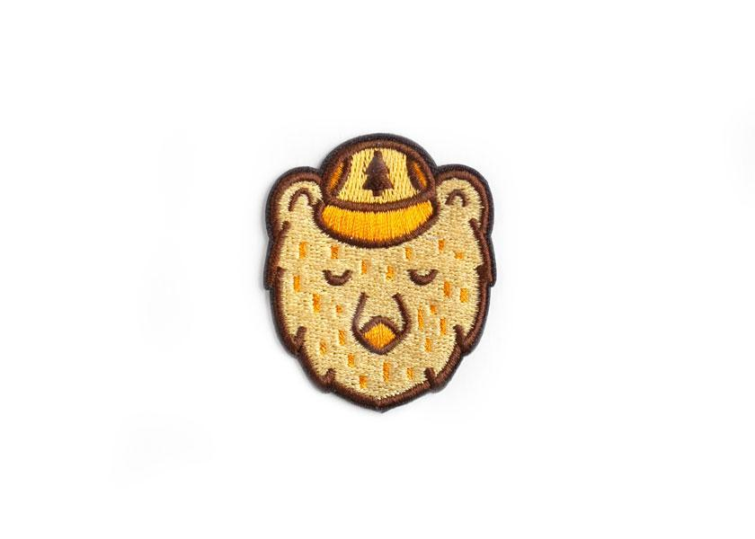 Ranger Bear Sticky Patch - Wondery, A Parks Apparel Brand