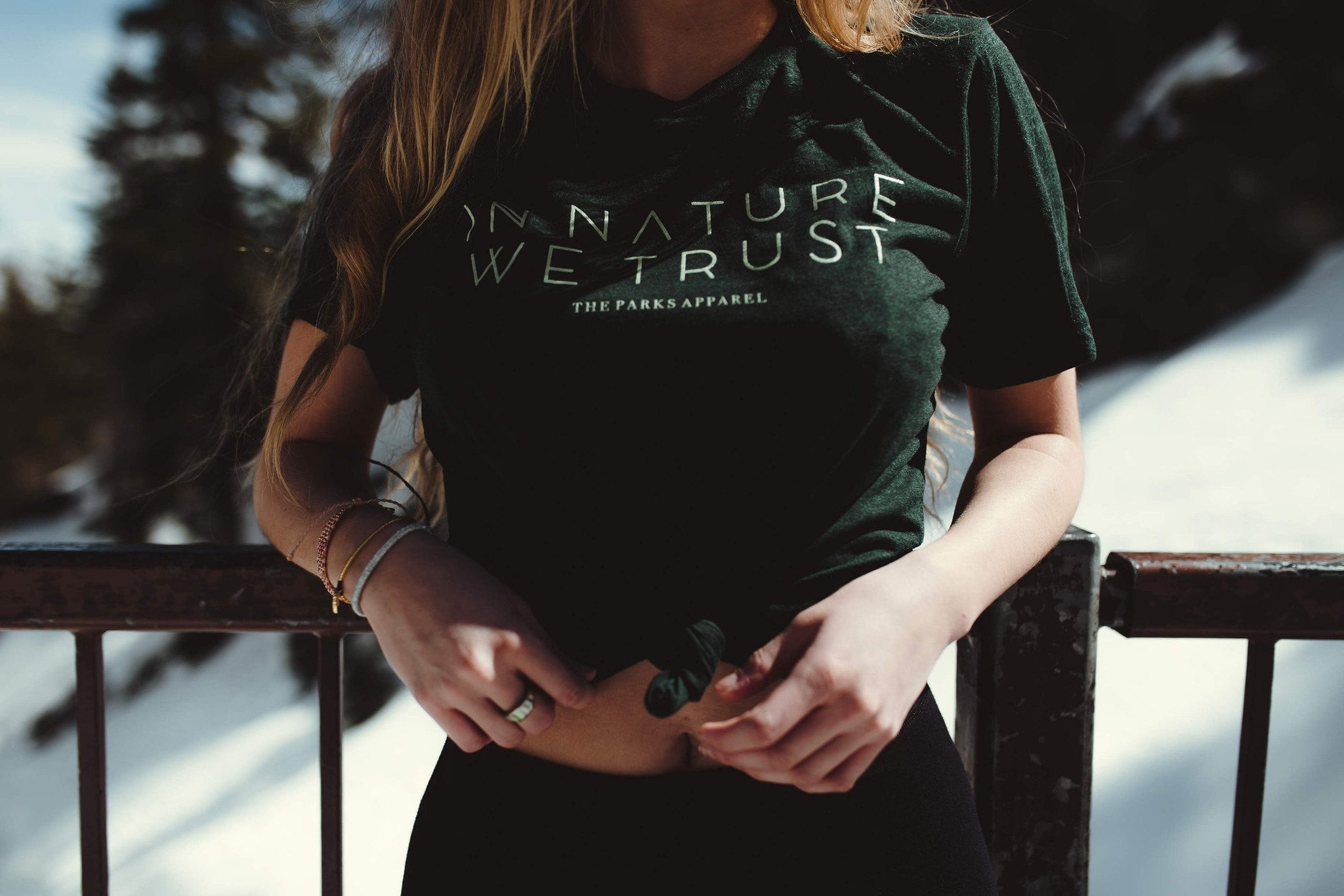 The Parks In Nature We Trust Tee
