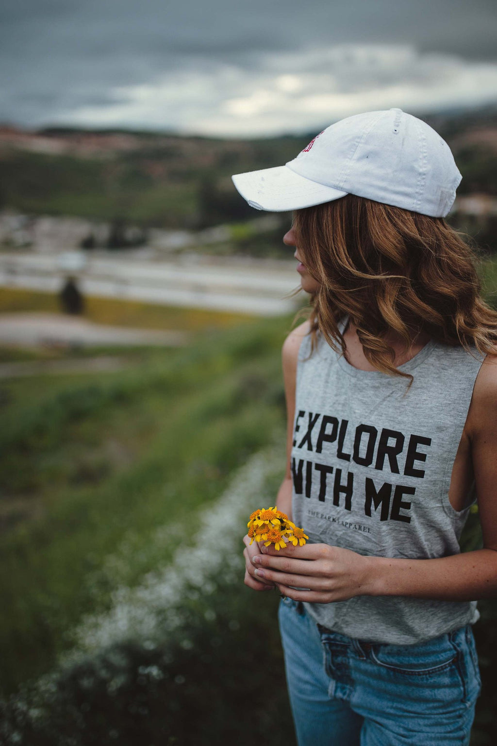 The Parks Explore With Me Women's Muscle Tank - The Parks Apparel