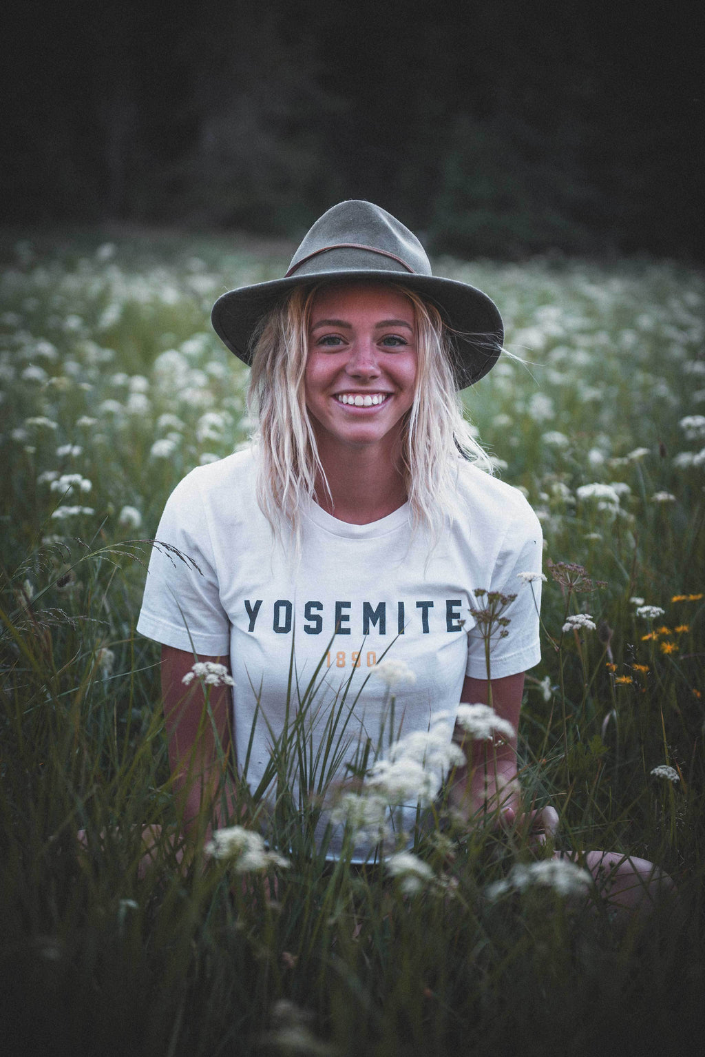 The Parks Yosemite Women's Cropped Tee - The Parks Apparel