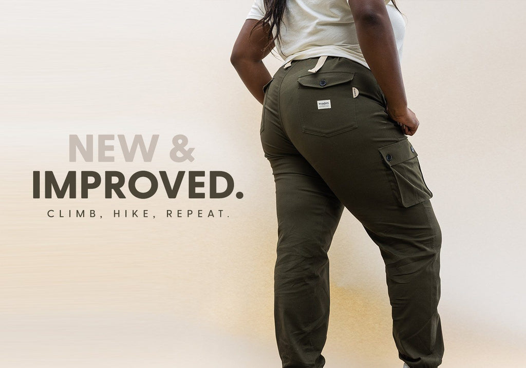 Isabel 2.0 Hiker Pants | Forest - Wondery