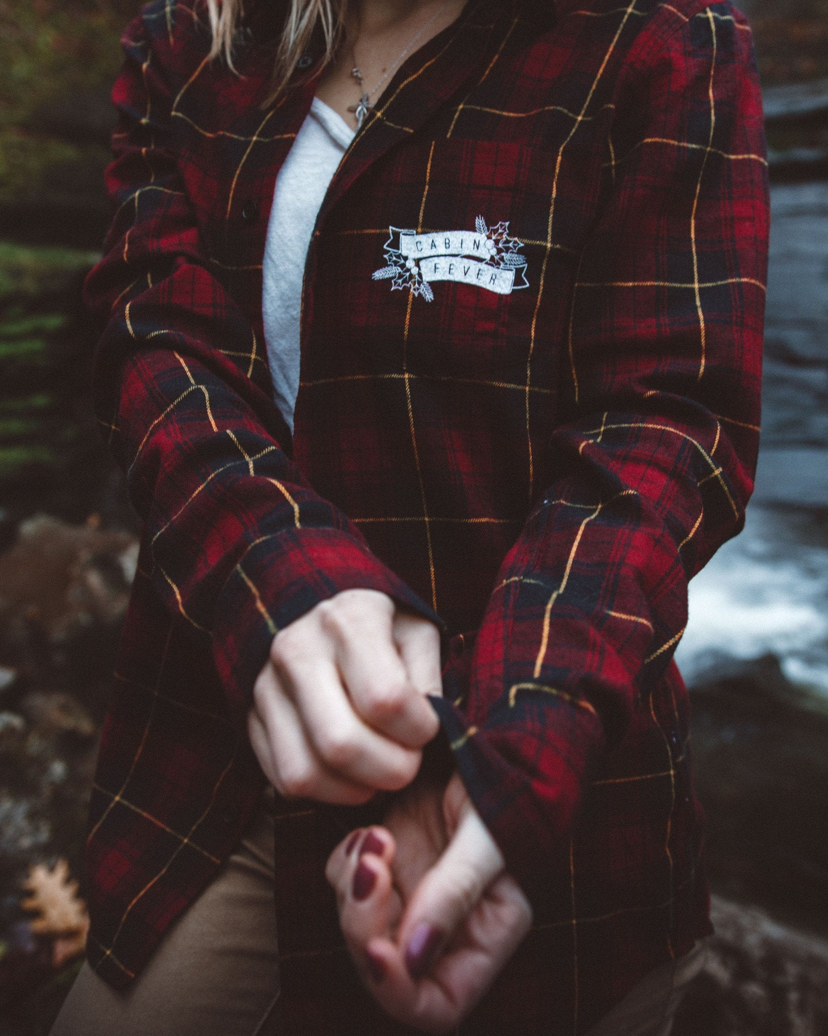 The Parks Holiday Cabin Fever Flannel (Boyfriend Fit) - The Parks Apparel