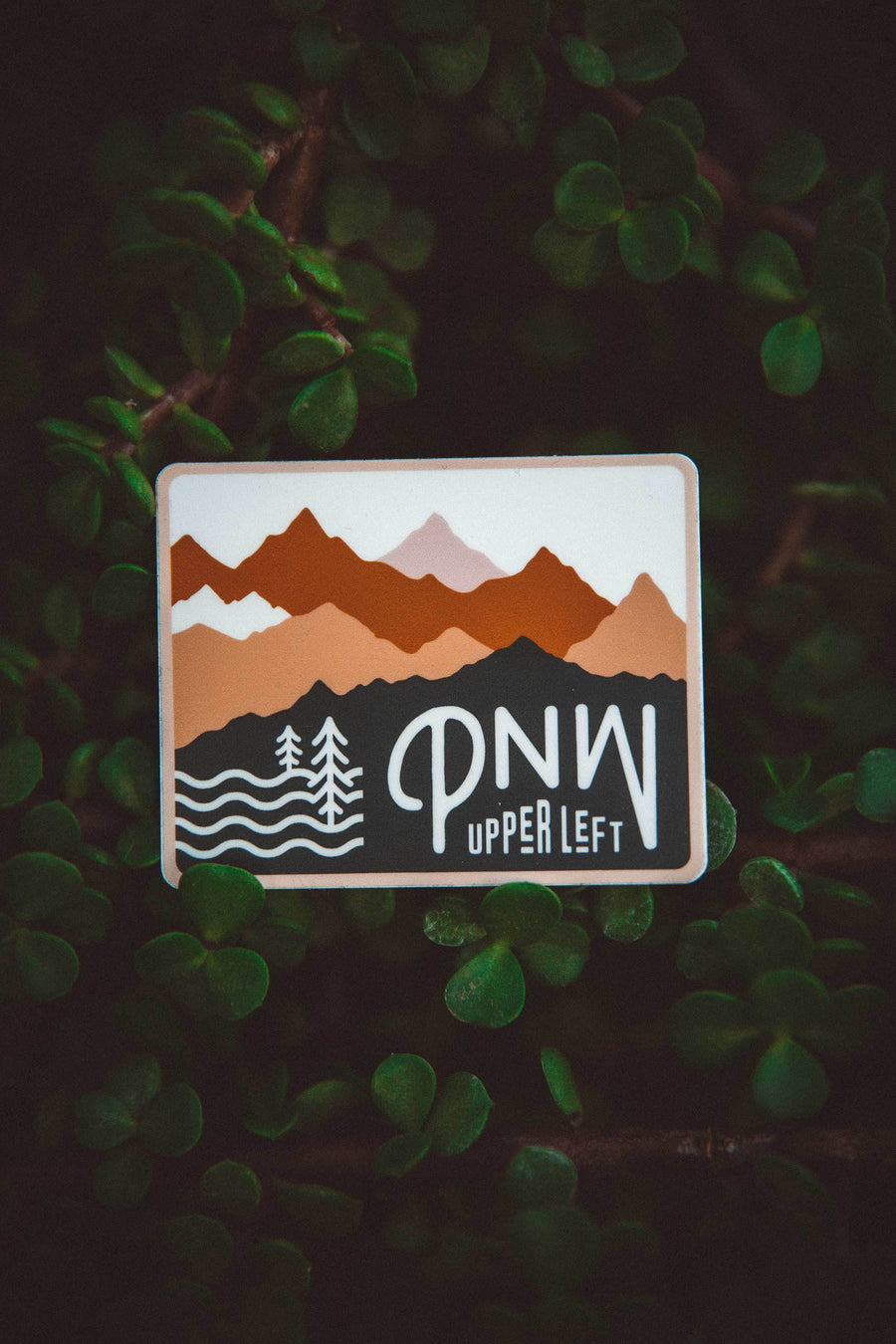 Upper Left PNW Sticker - Wondery, A Parks Apparel Brand