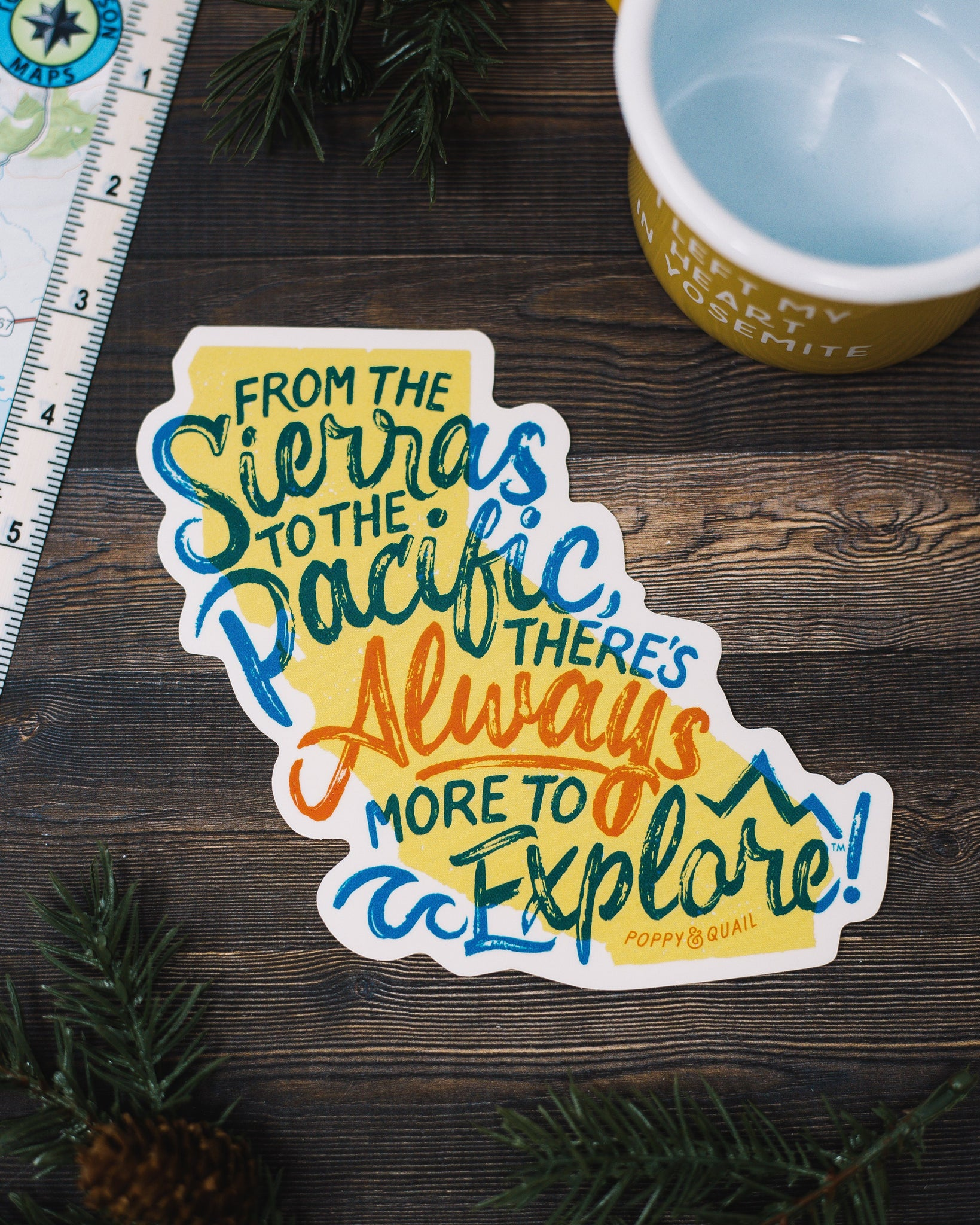 Sierra Pacific Sticker - The Parks Apparel