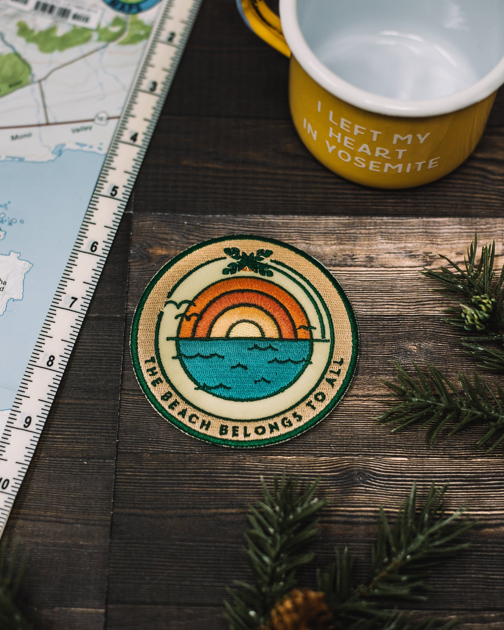 Beach Sunrise Sticky Patch - The Parks Apparel