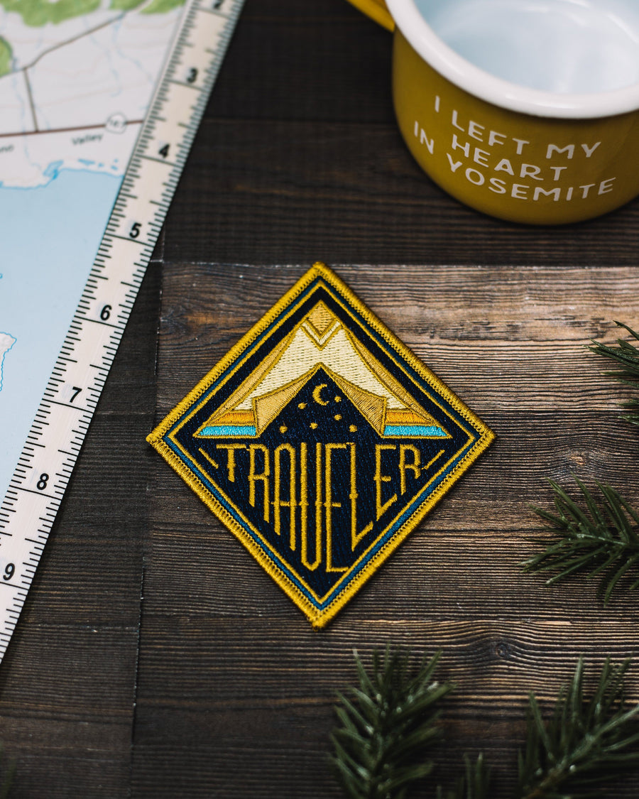 Traveler Patch - Wondery, A Parks Apparel Brand