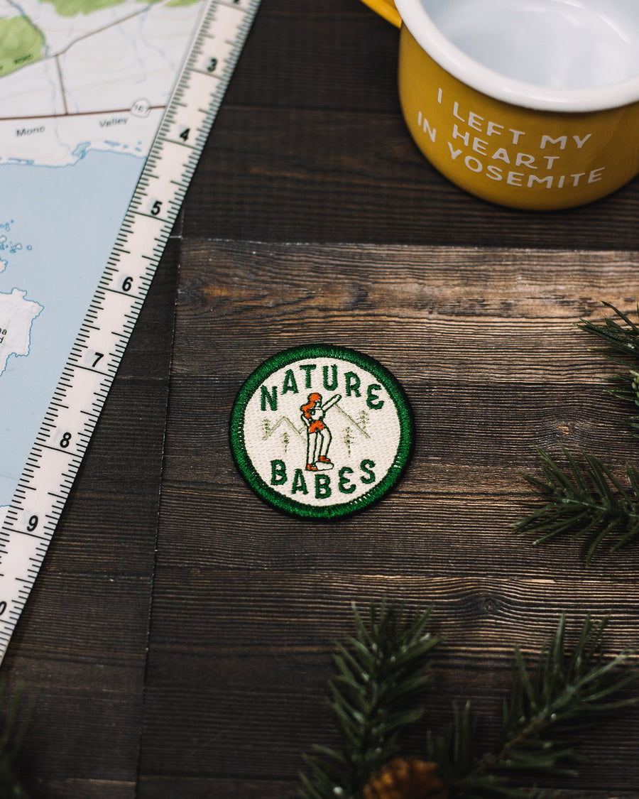 Nature Babes Sticky Patch - Wondery, A Parks Apparel Brand