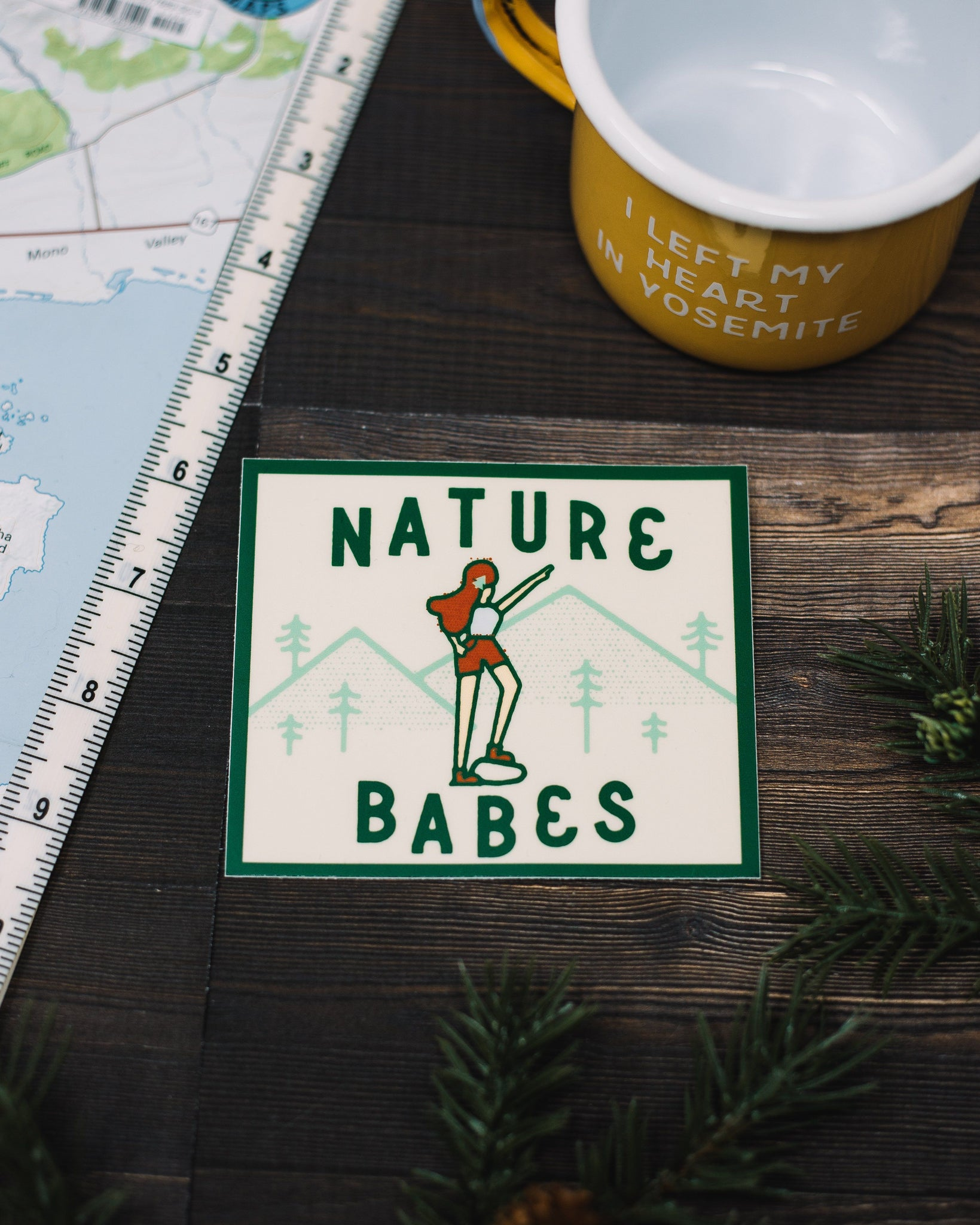 Nature Babe Vinyl Sticker - The Parks Apparel
