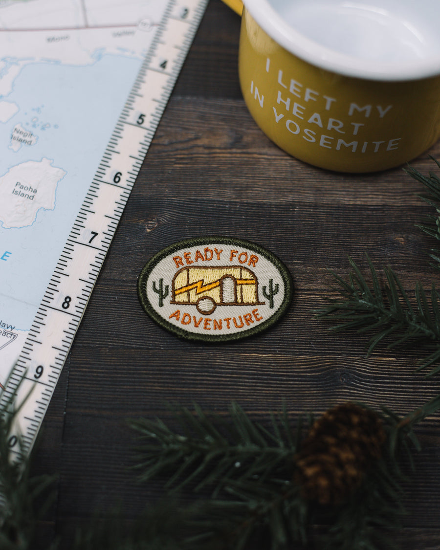 Ready For Adventure Patch - Wondery, A Parks Apparel Brand