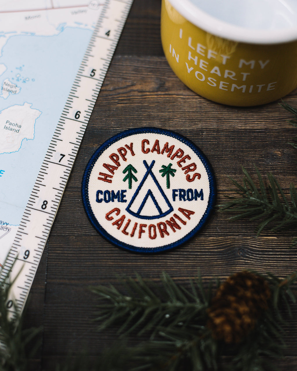 Happy Camper Patch - The Parks Apparel