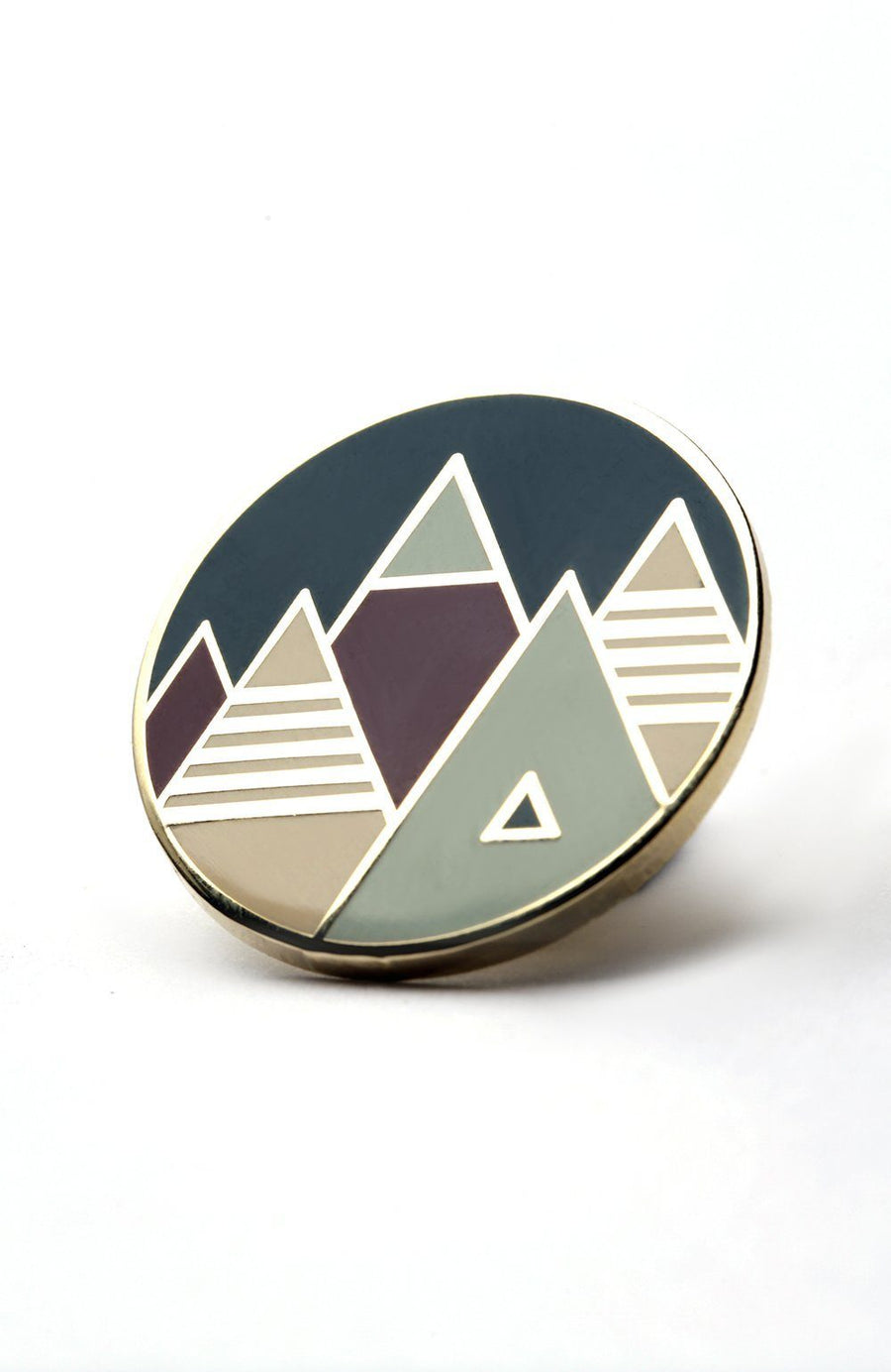 Purple Mountains Majesty Enamel Pin - Wondery, A Parks Apparel Brand
