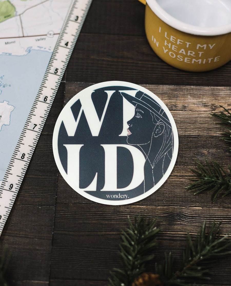 Wild Wonder Sticker - Wondery, A Parks Apparel Brand