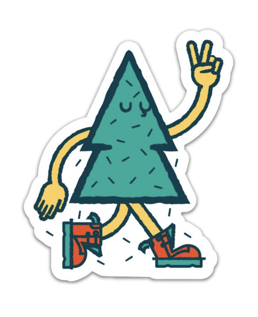 Tree Friend Sticker - Wondery, A Parks Apparel Brand