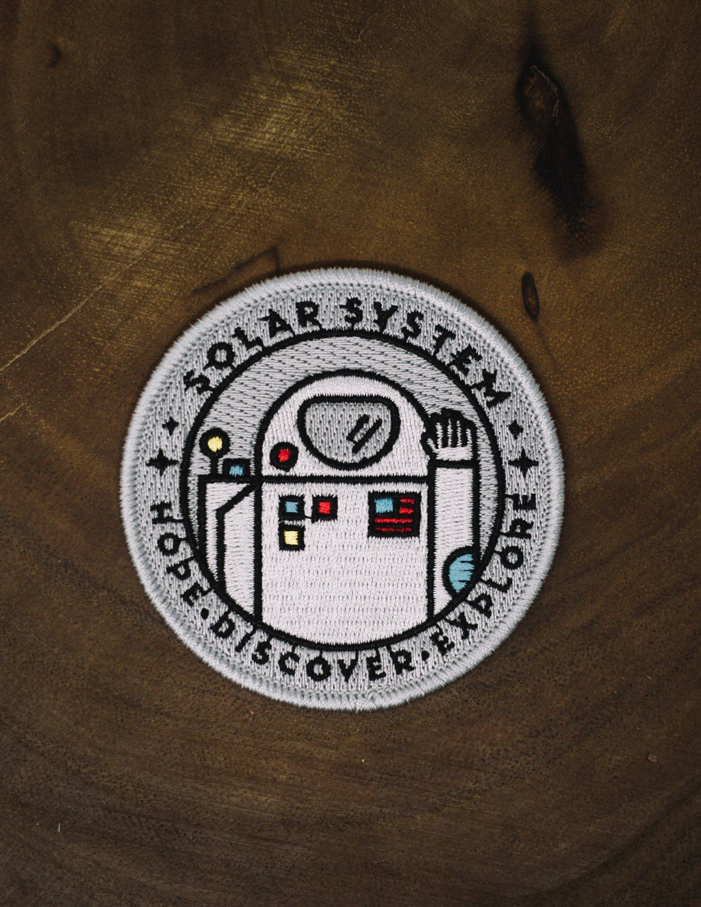 Astronaut Space Explorer's Patch - The Parks Apparel