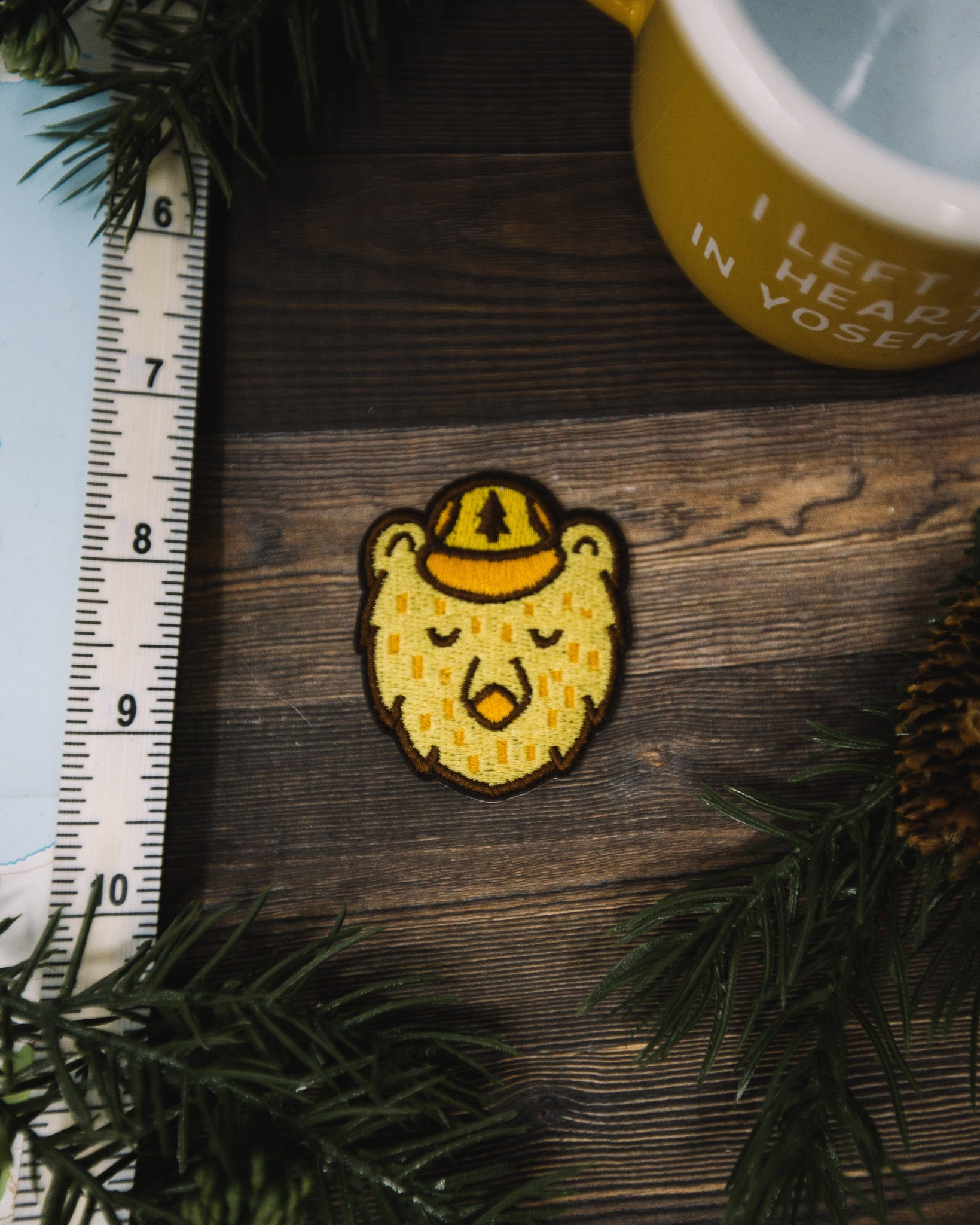 Ranger Bear Sticky Patch - The Parks Apparel