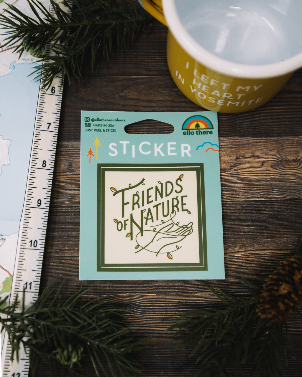 Friends of Nature Sticker - The Parks Apparel