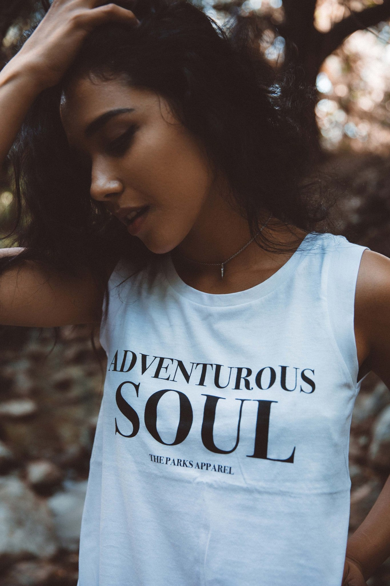 The Parks Adventurous Soul Women's Cap Sleeve Tank - The Parks Apparel