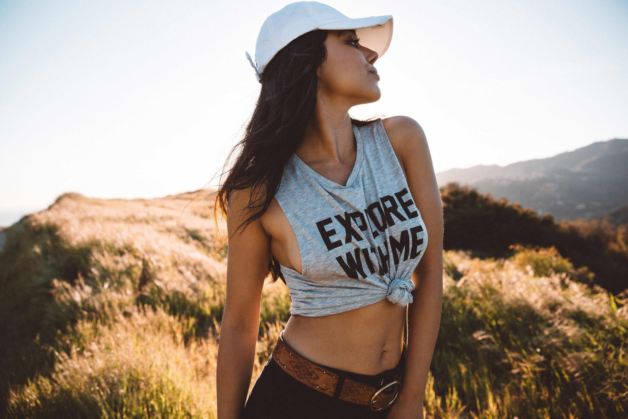 The Parks Explore With Me Women's Muscle Tank