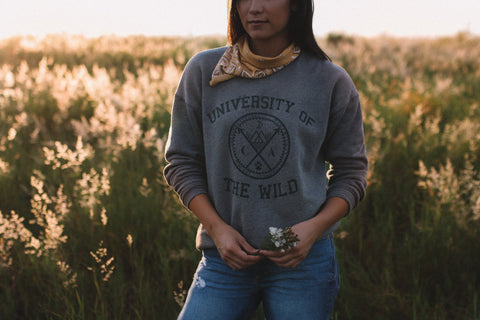 The Parks University of The Wild Crewneck Sweater - The Parks Apparel