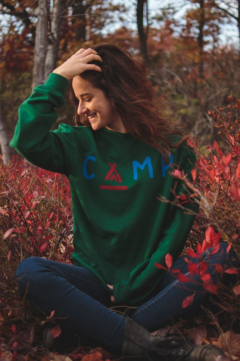 CAMP Crewneck - The Parks Apparel
