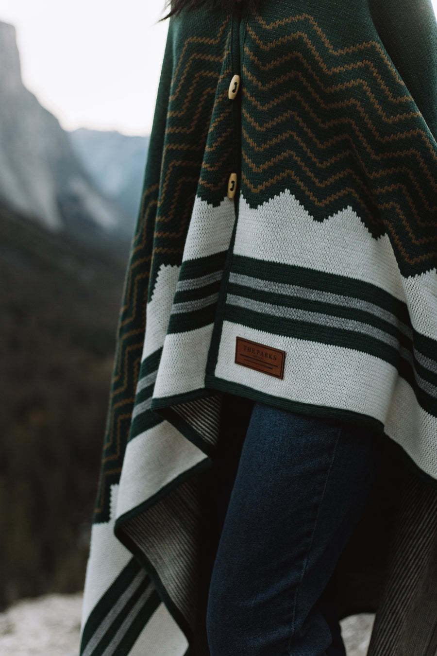 Explorer Wraparound Blanket // Coastal Pines Edition - Wondery, A Parks Apparel Brand