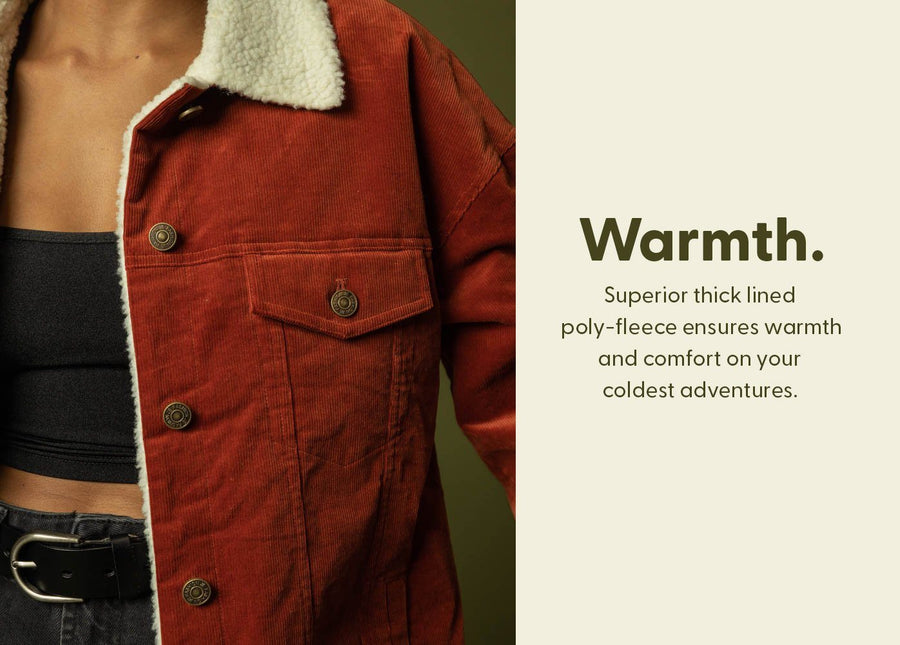 The Cheyenne Outsider Corduroy Jacket - Wondery, A Parks Apparel Brand