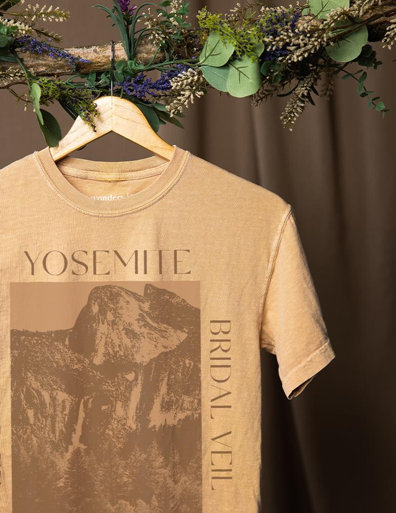 Yosemite Sights Girlfriend Tee - Wondery