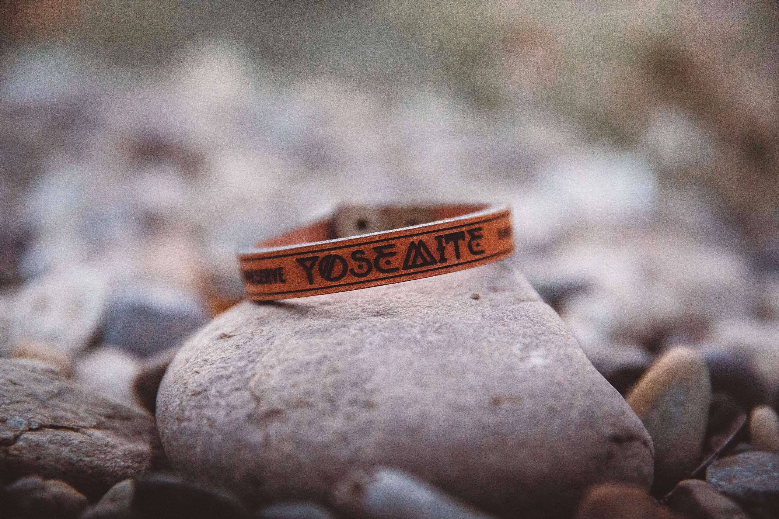 The Parks Limited Edition Leather Yosemite Bracelets
