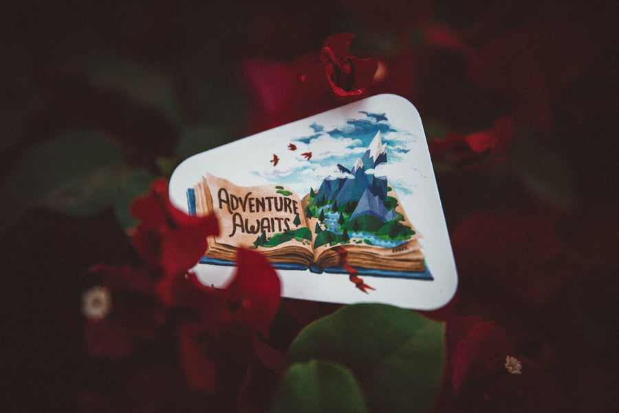 Adventure Awaits Sticker - Wondery, A Parks Apparel Brand