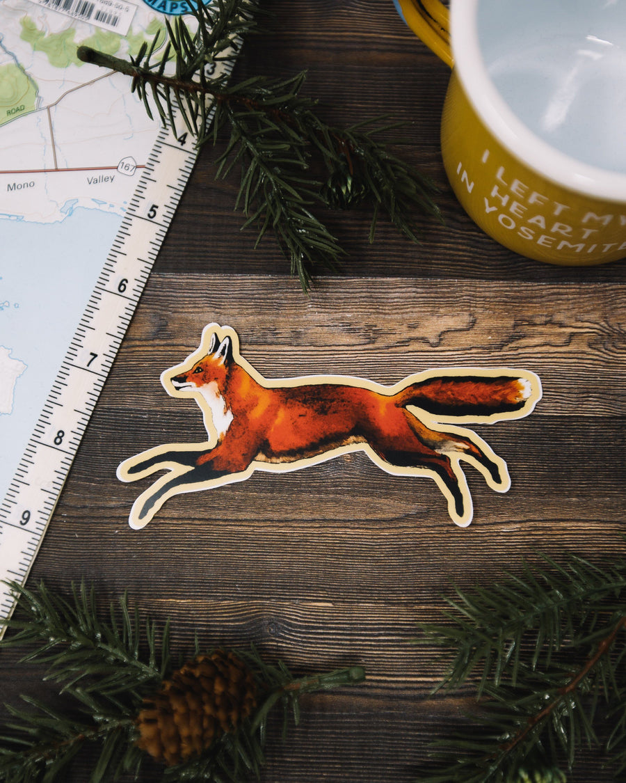 The Fox Sticker Pack (6 Pack) - Wondery, A Parks Apparel Brand