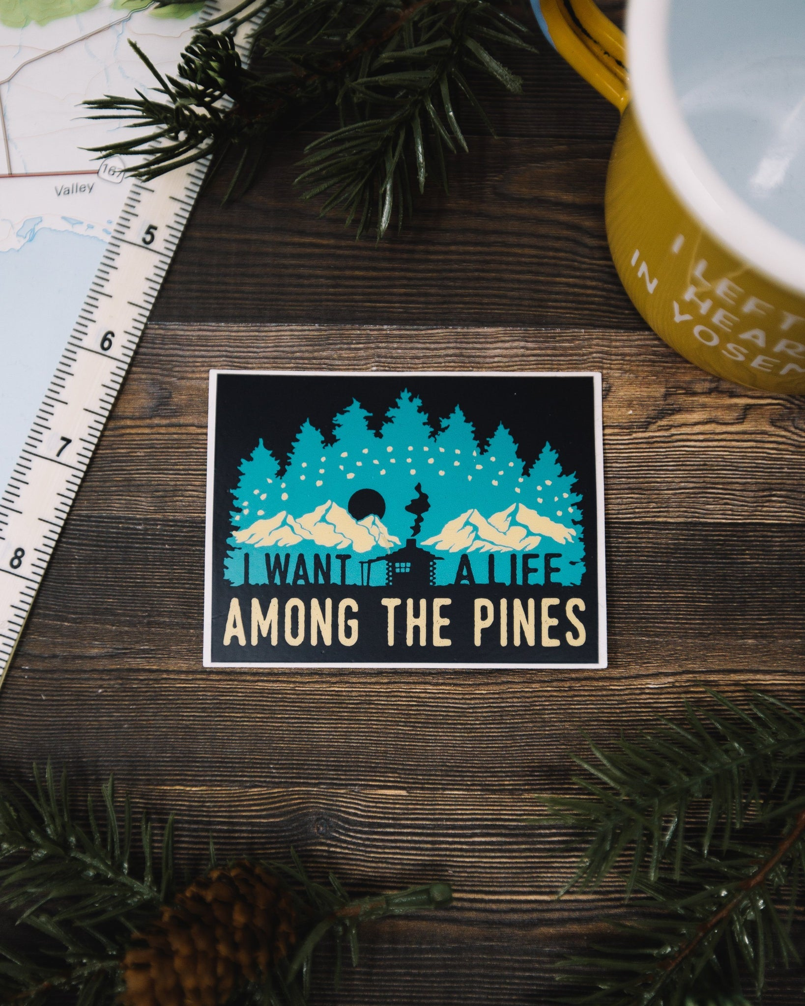 Adventure Sticker Pack (6 Pack) - The Parks Apparel