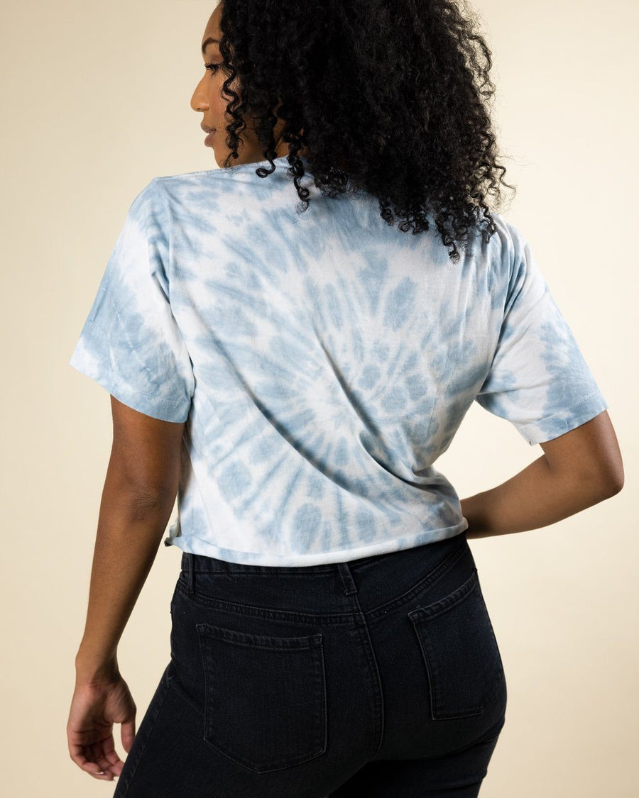 Adventurous Soul Cropped Tie Dye Tee - Wondery, A Parks Apparel Brand