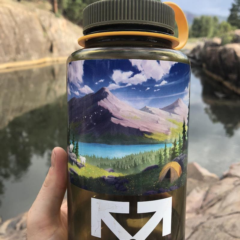 Alpine Mountains Sticker - The Parks Apparel
