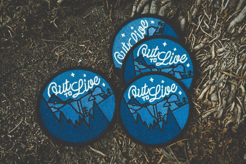 Out to Live Patch - The Parks Apparel