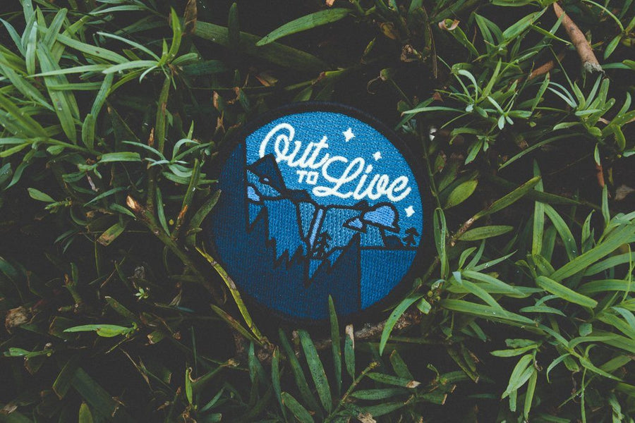 Out to Live Patch - Wondery, A Parks Apparel Brand