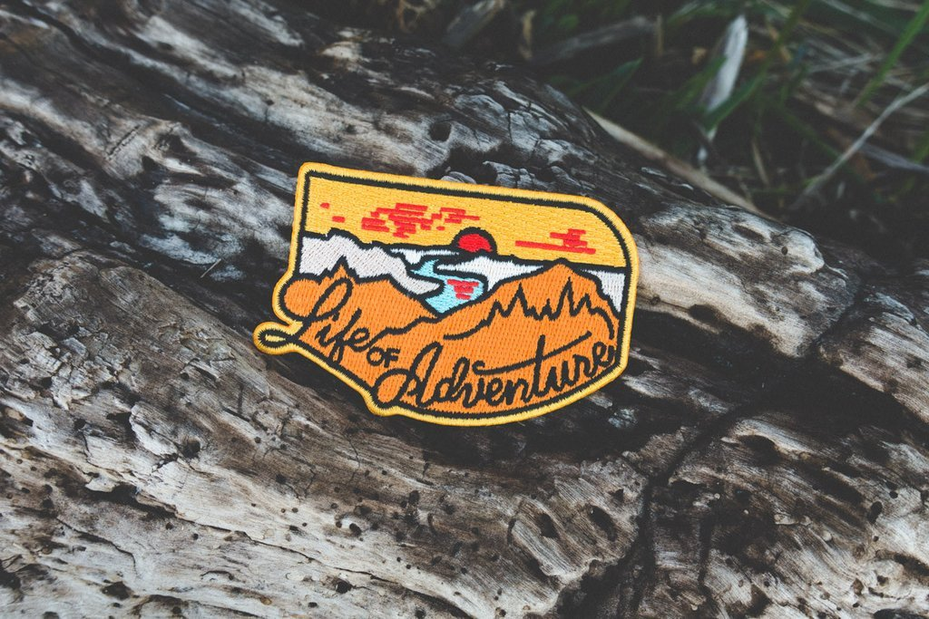 Life of Adventure Patch - The Parks Apparel