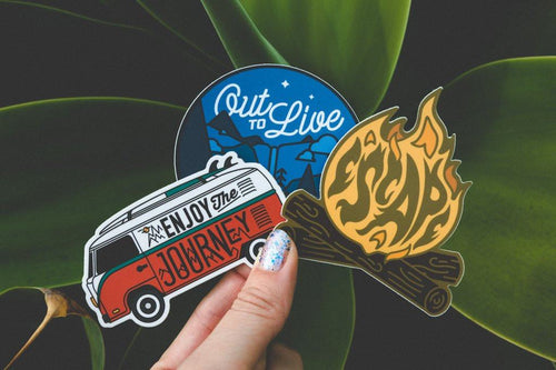 Adventure Sticker Set #2 (3 Set)